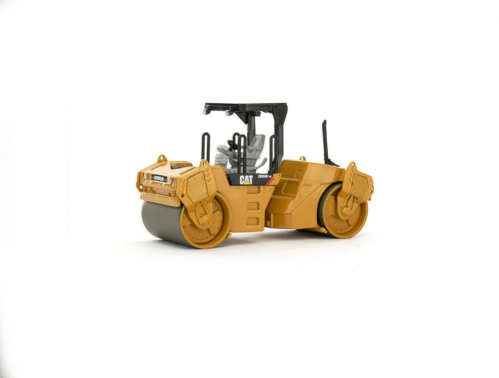 Diecast Model- Cat CB-534D XW Vibratory Asphalt Compactor-55132